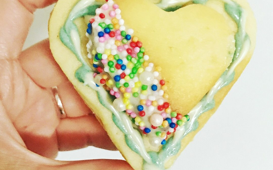 Sprinkle Jingle Valentine Biscuits