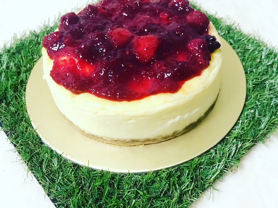 Berries Compote Cheesecake